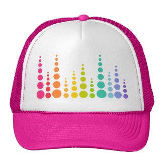 Rainbow Bubble Dots Trucker Hat