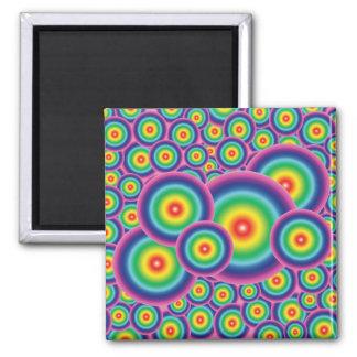 Rainbow Bubble Fridge Magnet