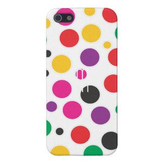 Rainbow Bubble Gum polkadot Case For iPhone SE/5/5s