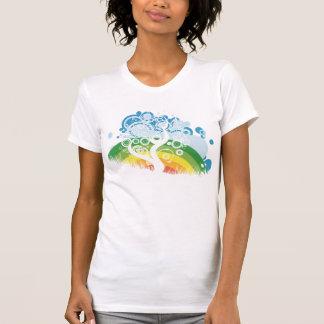 rainbow bubble sky shirt