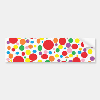 Rainbow Bubbles Bumper Sticker