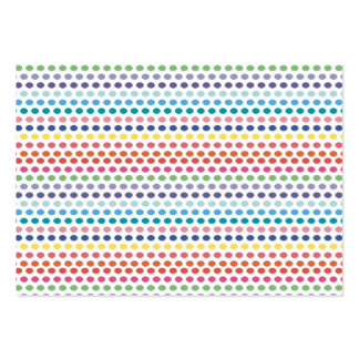 Rainbow Bubbles Pack Of Chubby Business Cards