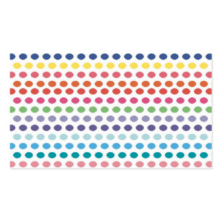Rainbow Bubbles Pack Of Standard Business Cards