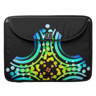 Rainbow Bubbles Color Field Bright Beautiful Vivid Sleeve For MacBook Pro