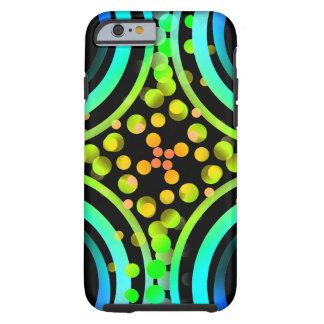 Rainbow Bubbles Color Field Bright Beautiful Vivid Tough iPhone 6 Case