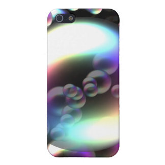 Rainbow Bubbles Cover For iPhone SE/5/5s