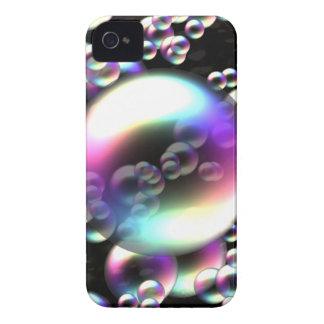 Rainbow Bubbles iPhone 4 Cases