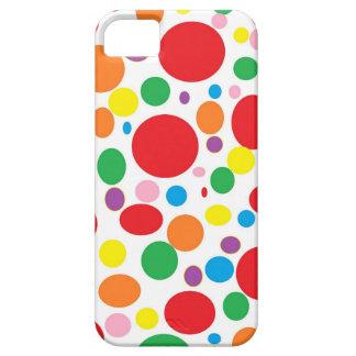Rainbow Bubbles iPhone Case