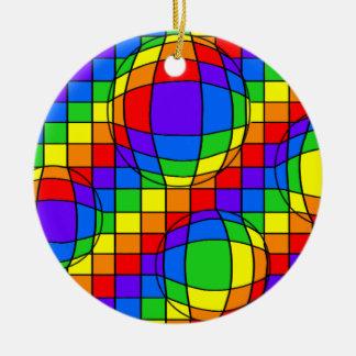 Rainbow Bubbles Ornament