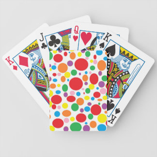 Rainbow Bubbles Playing Cards