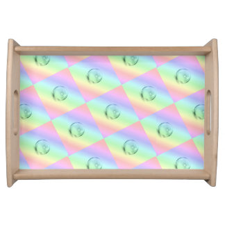 Rainbow Bubbles Serving Tray
