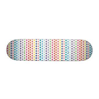Rainbow Bubbles Skateboard