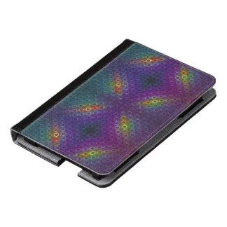 Rainbow Bubblewrap Fractal Disco Lights Kindle Case