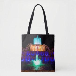Rainbow Buckingham Tote Bag