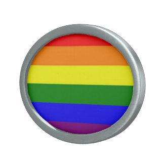 Rainbow buckle belt buckle