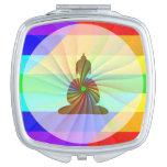 Rainbow Buddha Mirror For Makeup