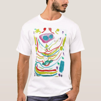 Rainbow Buddha T Shirt
