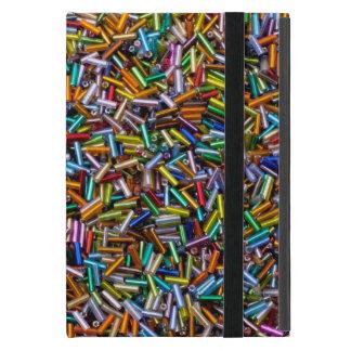 Rainbow Bugle Beads Case For iPad Mini