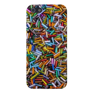 Rainbow Bugle Beads Cover For iPhone SE/5/5s