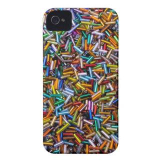 Rainbow Bugle Beads iPhone 4 Case-Mate Case