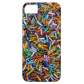 Rainbow Bugle Beads iPhone SE/5/5s Case
