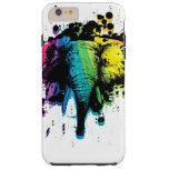 Rainbow Bull Elephant Abstract Tough iPhone 6 Plus Case