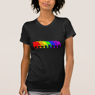 Rainbow Bulldog Tee Shirt