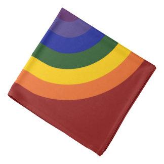 Rainbow Bullseye Bandana