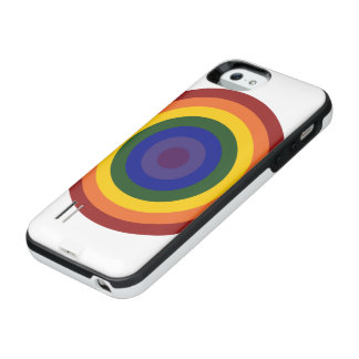 Rainbow Bullseye Case
