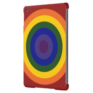 Rainbow Bullseye Cover For iPad Air