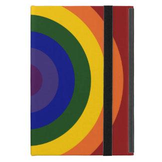 Rainbow Bullseye Cover For iPad Mini