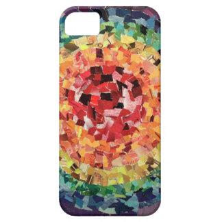 Rainbow Bullseye iPhone SE/5/5s Case