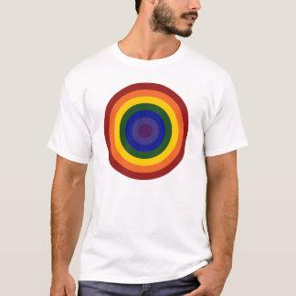 Rainbow Bullseye T-Shirt