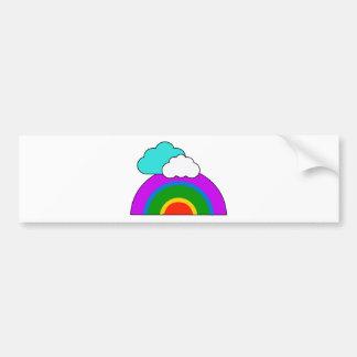 rainbow bumper stickers