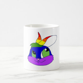 Rainbow Bunneh Coffee Mug