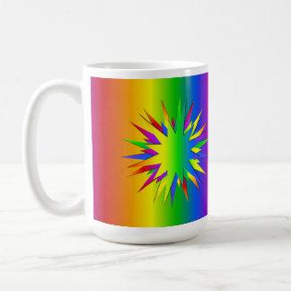 Rainbow Burst mug - choose style & color