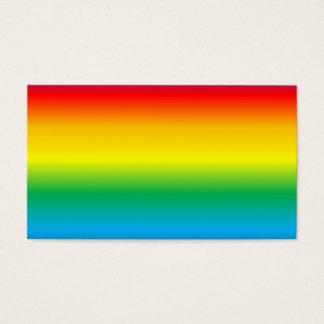 rainbow- business card