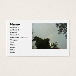 Rainbow Business Cards by Julia Hanna