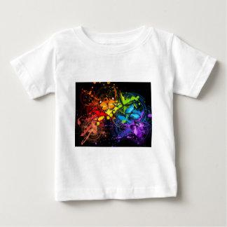 Rainbow butterflies baby T-Shirt