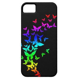 Rainbow Butterflies iPhone 5 Covers