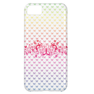 rainbow butterflies iphone 5 vibe case cover cover for iPhone 5C