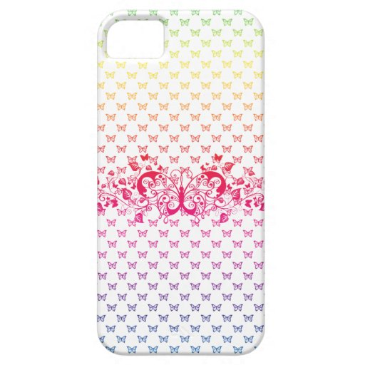 rainbow butterflies iphone 5 vibe case cover iPhone 5 case