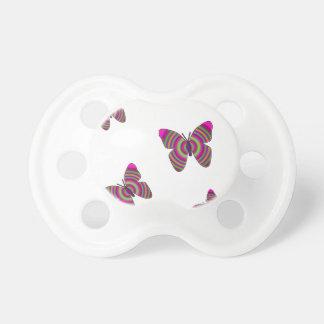 Rainbow Butterflies Pacifier