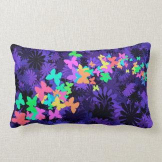 Rainbow Butterflies Pillow