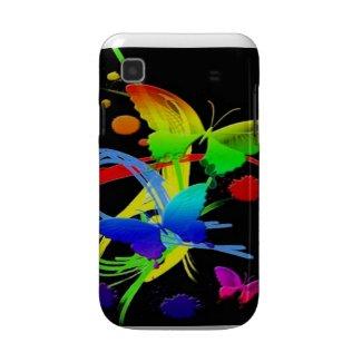 Rainbow Butterflies Samsung Galaxy Case casematecase