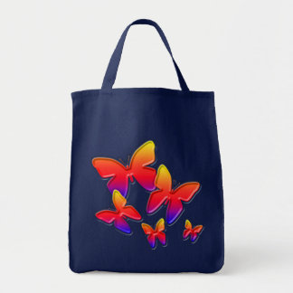 Rainbow Butterflies Tote