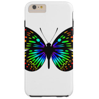 Rainbow Butterfly (A) iPhone 6 Plus Case/Vibe