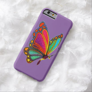Rainbow Butterfly Barely There iPhone 6 Case