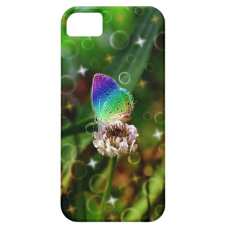 Rainbow Butterfly iPhone 5 Covers