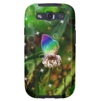 Rainbow Butterfly Samsung Galaxy S3 Covers